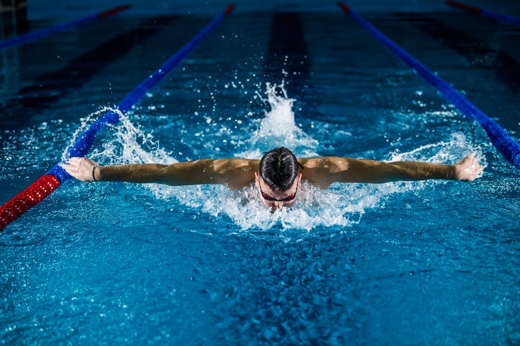 competitive swimmers use visualization just as you can for your personal growth